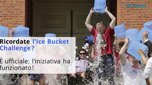 Lotta alla SLA, l'Ice Bucket Challenge ha funzionato davvero