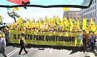 """Bari, 5mila agricoltori protestano per il prezzo del grano: """"Basta speculazioni"""""""