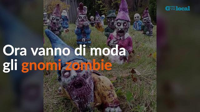 Gnomi da incubo: in giardino arrivano gli zombie