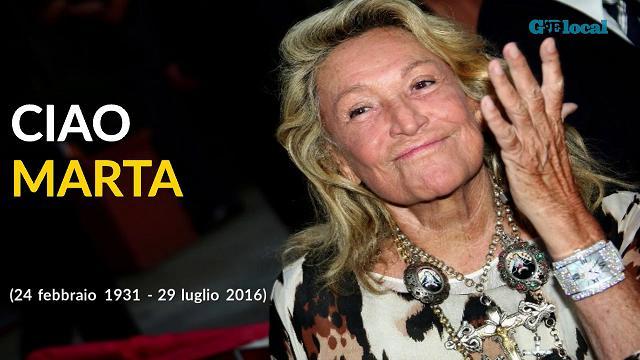 Addio a Marta Marzotto: una vita nella moda