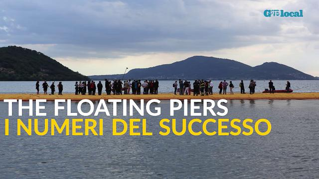 The Floating Piers, i numeri del successo