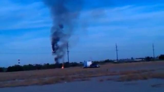 Usa, mongolfiera precipita in Texas dopo aver preso fuoco