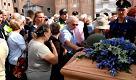 Funerali di padre Poiana: l'ultimo saluto dei fedeli a Padova
