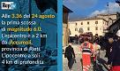 Terremoto, morti e feriti nel Lazio e nelle Marche