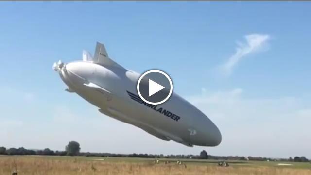 Aereo Privato Piu Grande Al Mondo : L aereo più grande del mondo airlander incidente nel