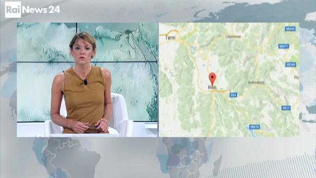Terremoto, le due scosse in diretta tv