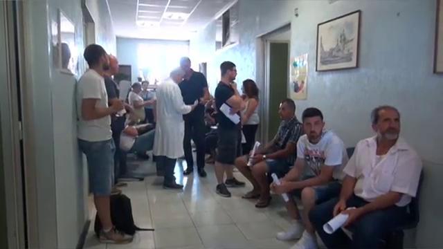 Terremoto, la solidarietà dei romani: in coda per donare il sangue