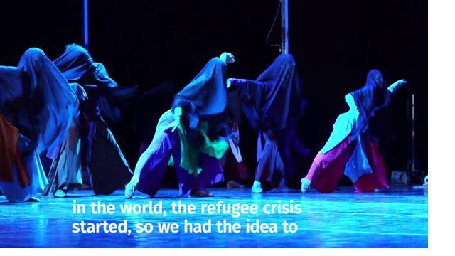 Balletto, Irina Kolesnikova porta la Carmen in un campo profughi