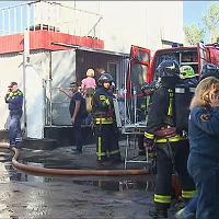 Mosca: incendio in una tipografia, decine di vittime