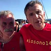 L'impresa di Sandro Lulli per ricordare le 140 vittime del Moby