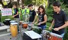 Pescara, flashmob musicale contro il taglio degli alberi