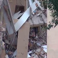 Via della Farnesina, palazzo crollato, nei giorni scorsi problemi idrici al palazzo