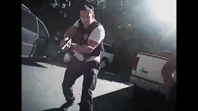 Charlotte, l'uccisione di Keith Scott: le immagini della polizia