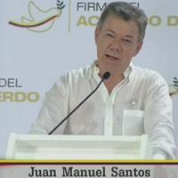 """Colombia, la soddisfazione di Santos: """"Pace con le Farc per il bene del pianeta"""""""