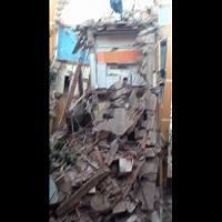 Roma, il palazzo crollato in via della Farnesina
