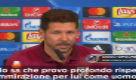 """Simeone: """"Io e Ancelotti ci agitiamo perché..."""""""