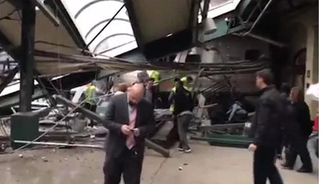 Treno deragliato: le riprese amatoriali sulla scena del disastro