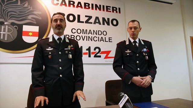 Bolzano, al comando del reparto operativo dell'Arma arriva Enrico Pigozzo