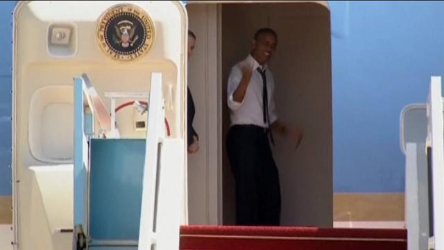 """Israele: Clinton si attarda e Obama si spazientisce: """"Dai, Bill, andiamo!"""""""