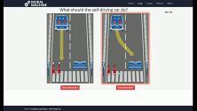 Guida autonoma, chi vive e chi muore? Il dilemma del MIT diventa un quiz