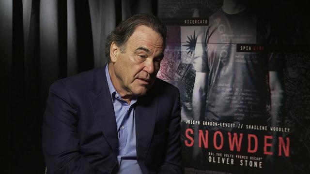 Festival di Roma: Oliver Stone presenta Snowden