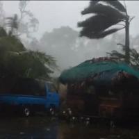 Filippine: paura per il tifone Haima, evacuate migliaia di persone