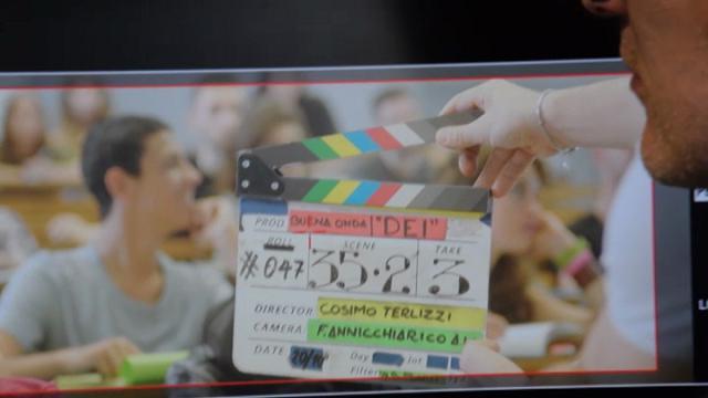 L'Ateneo di Bari è un set: in aula si gira il film prodotto da Scamarcio e Golino