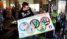 Libri e bici con l'oro olimpico Viviani