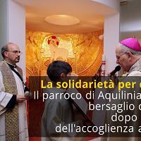 Accoglienza migranti, la solidarietà per don Paolo dopo l'atto vandalico