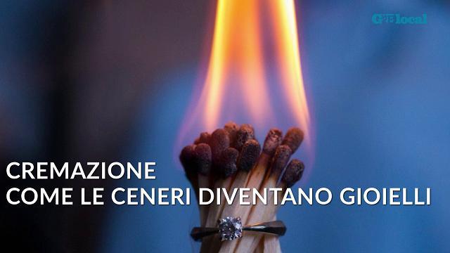 Cremazione, ecco come le ceneri diventano gioielli
