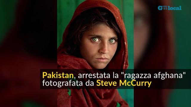 """Pakistan, arrestata Sharbat Bibi: la """"ragazza afghana"""" di Steve McCurry"""