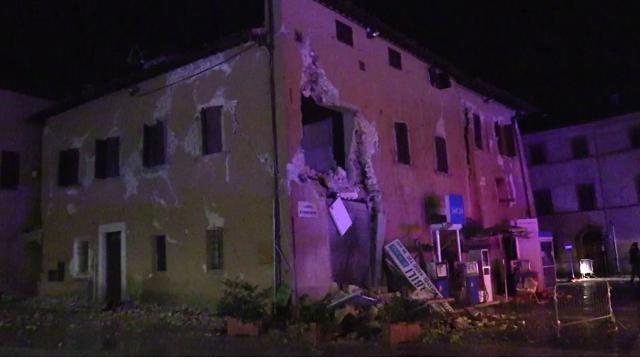 Terremoto Centro Italia, i danni del sisma a Visso
