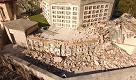 Ussita, il cimitero distrutto dal terremoto: le immagini dal drone