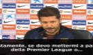 """Simeone: """"Premier? Penso solo al Malaga"""""""