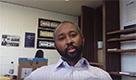 """Jaylani Hussein, 34 anni, Minneapolis. """"Voterò sui principi che impattano la mia comunità"""""""