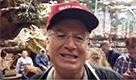 """Stephen Bisenius, 69 anni, Des Moines (Iowa): """"Trump è l'unico che si preoccupa per il deficit commerciale"""""""