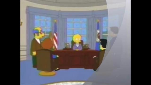Elezioni Usa, quando i Simpson predissero nel 2000 l'elezione di Trump