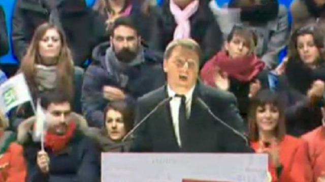 Referendum, Renzi: ''Se vince il Sì, Italia leader in Europa''