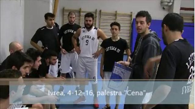 Ivrea, Basket  Lettera 22 - Pinerolo