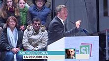 Referendum, Michele Serra: Risultato scontato, ora tutti senza un piano tranne i 5Stelle