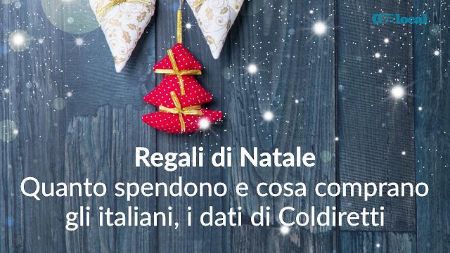 Libri, tecnologia, abiti: cosa regalano gli italiani a Natale