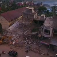Terremoto in Indonesia: il disastro visto dal drone