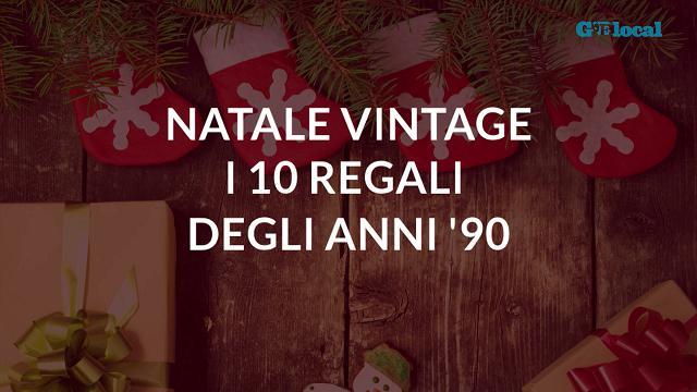 Natale vintage, dieci regali degli anni Novanta