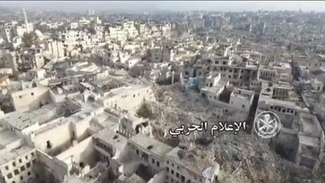 Siria: la devastazione di Aleppo vista dal drone
