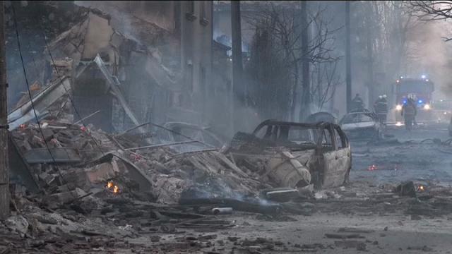 Bulgaria: esplode un treno merci carico di propano e propilene, cinque morti