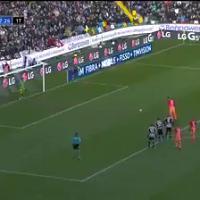 Udinese-Roma, ecco che fine ha fatto il rigore di Dzeko