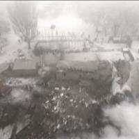 Aereo caduto in Kirghizistan, la zona dello schianto vista dal drone