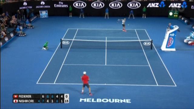 Australian Open, il rovescio capolavoro di Federer
