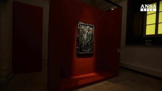 Arte: l'Annunciazione di El Greco ai Musei Capitolini