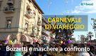 Carnevale di Viareggio: le maschere isolate